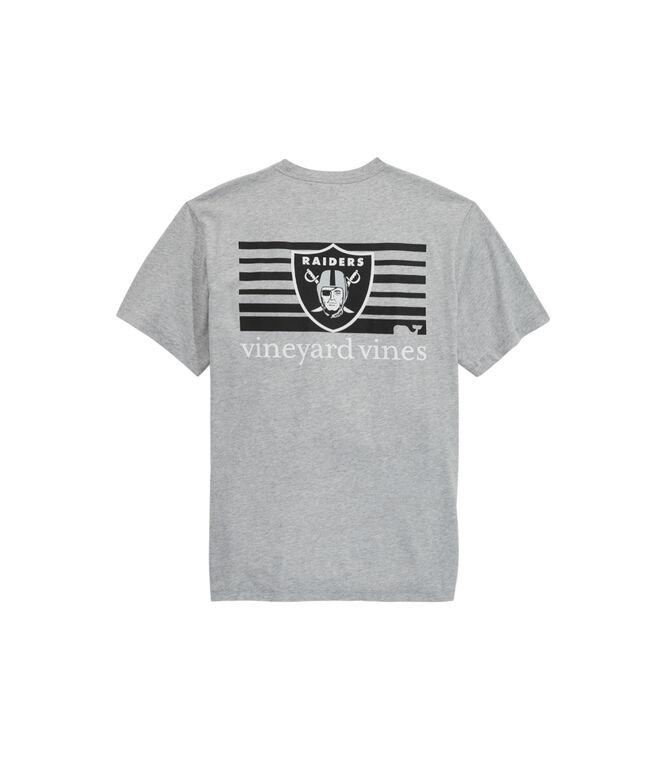 Oakland Raiders Block Stripe T-Shirt