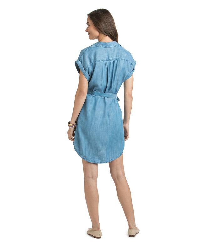 Dolman Chambray Popover Dress