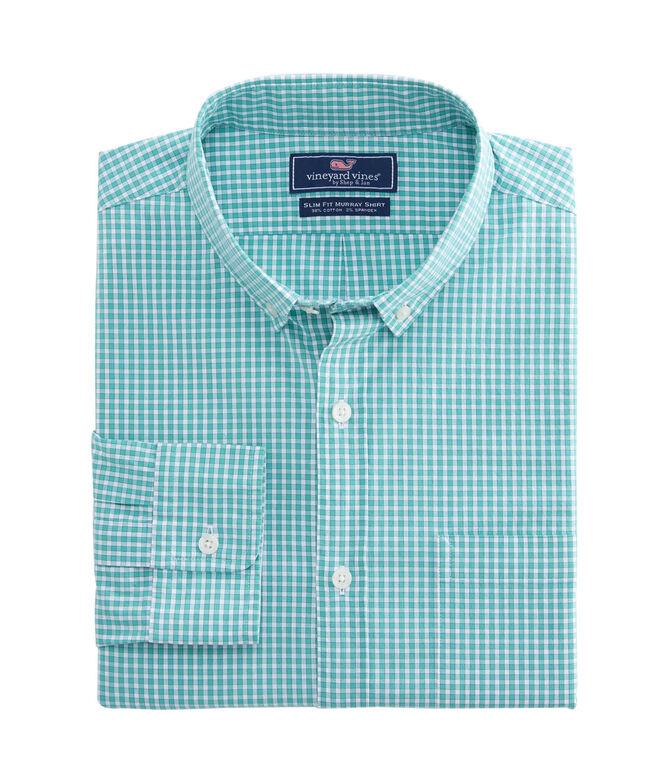 Buttonbush Check Slim Murray Shirt