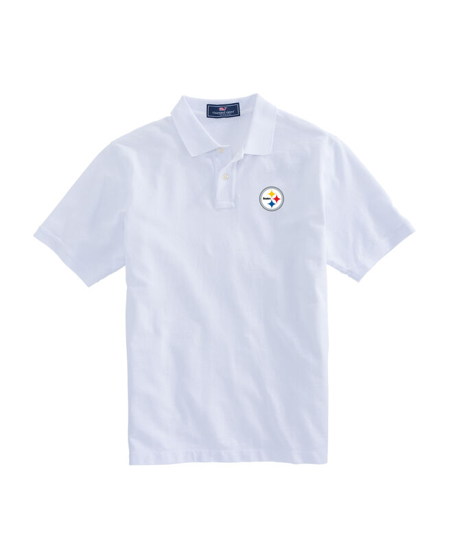 Pittsburgh Steelers Stretch Pique Polo
