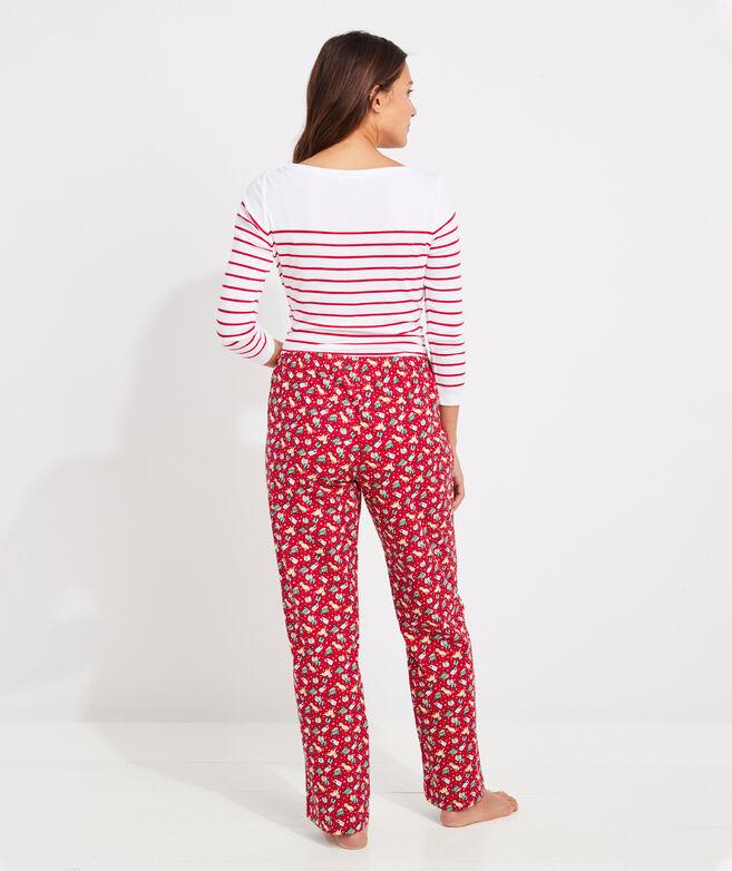 Printed Lounge Pants