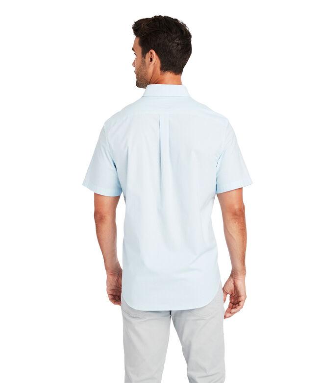 Classic Short-Sleeve Mini Waves Tucker Shirt