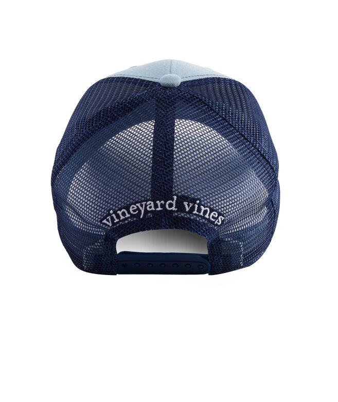 Shop fish hook patch trucker hat at vineyard vines for Fish hook for hat