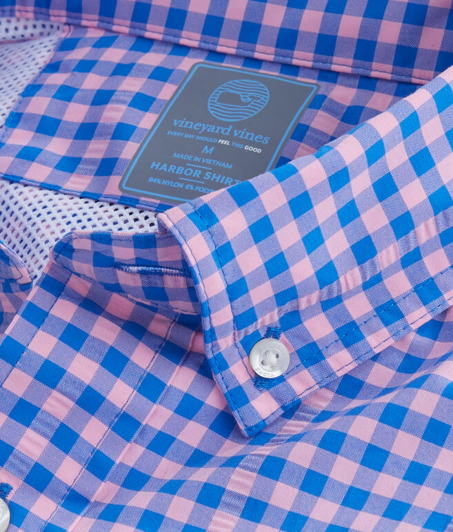 Andros Gingham Harbor Shirt