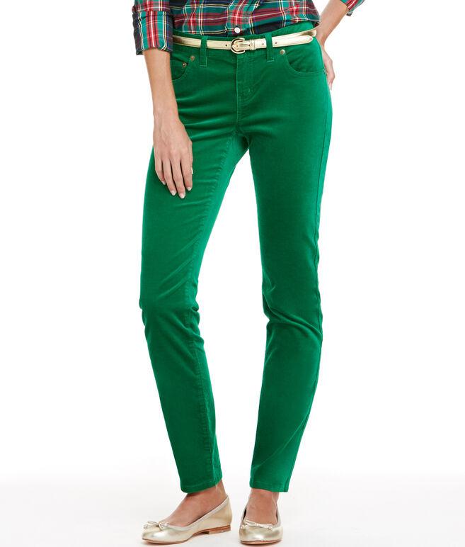 Velveteen 5-Pocket Pants