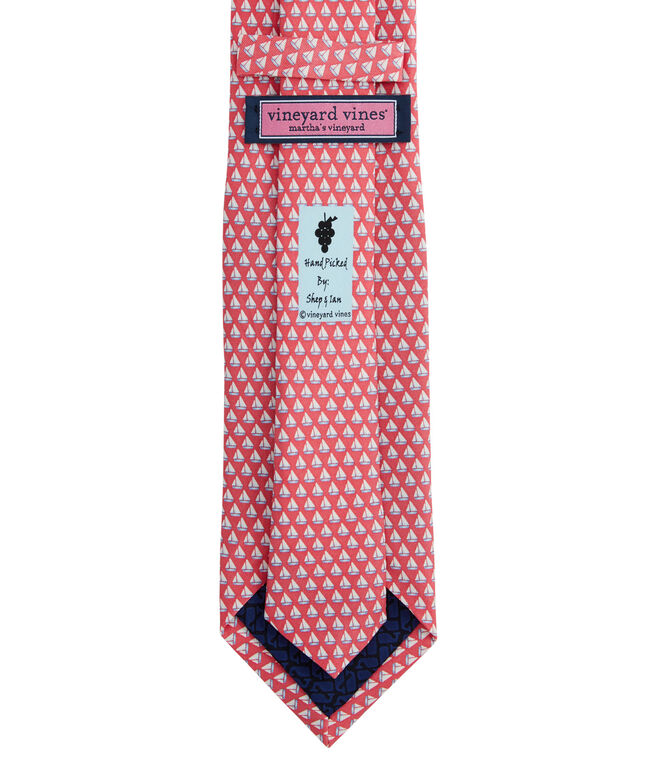 Mini Sails Printed Tie