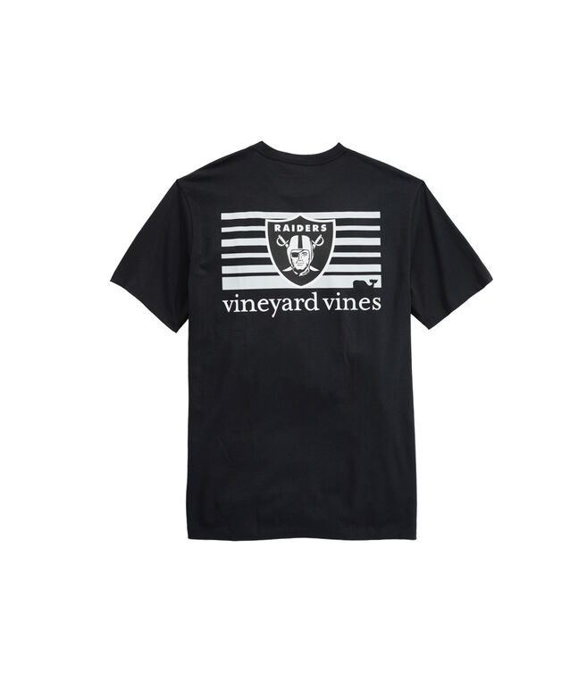 Oakland Raiders Block Stripe T-Shirt