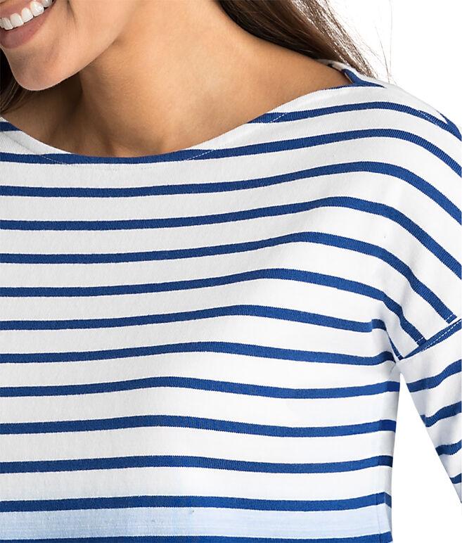 Dip Dye Stripe Top