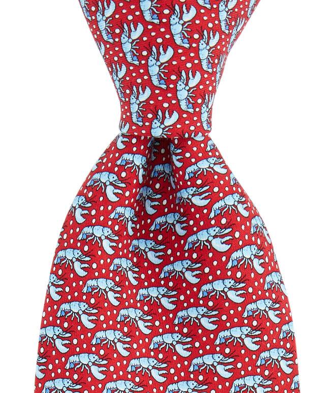 Lobster Pot Printed Tie