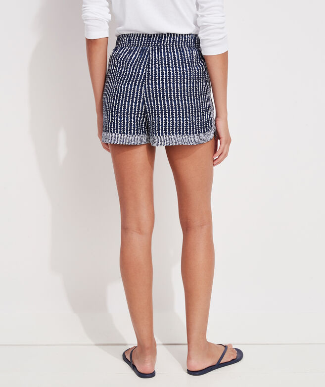 Print Mix Pull-On Shorts