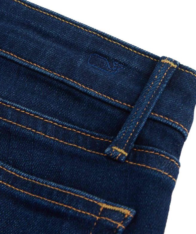 Made in the USA Jamie High Rise Dark Wash Denim