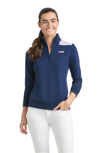 Shop Women S Quarter Zip Amp Pullovers At Vineyard Vines
