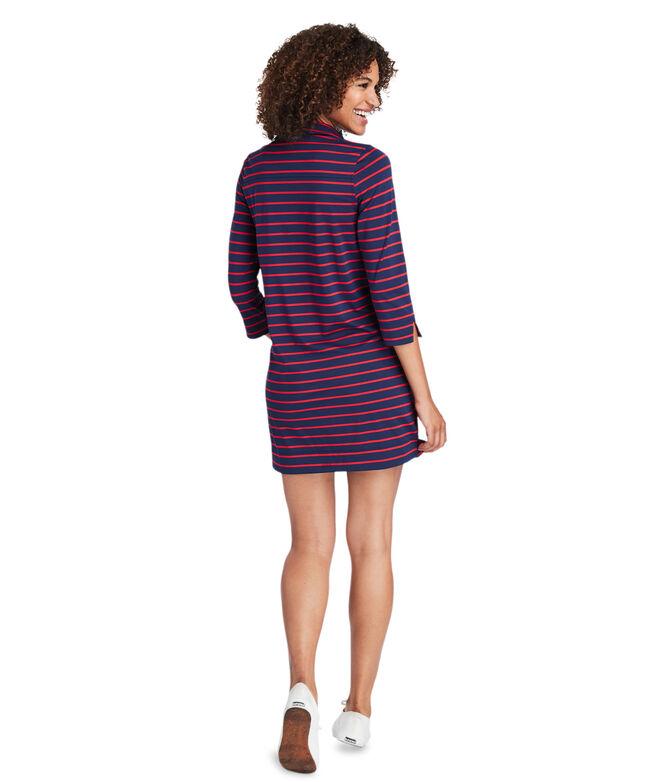 Break Stripe UPF Margo Shirt Dress