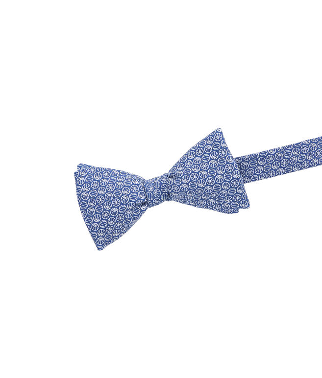 Micro Basketball Printed Bow Tie