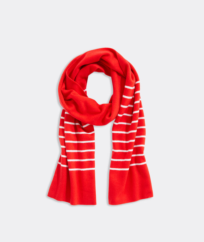 Break Stripe Cashmere Scarf