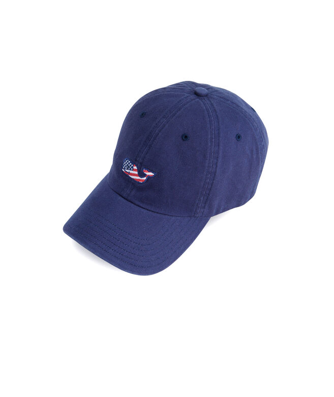 59366f9ff9093 Shop Whale Flag Baseball Hat at vineyard vines