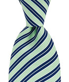 Broken Rep Stripe Printed Tie