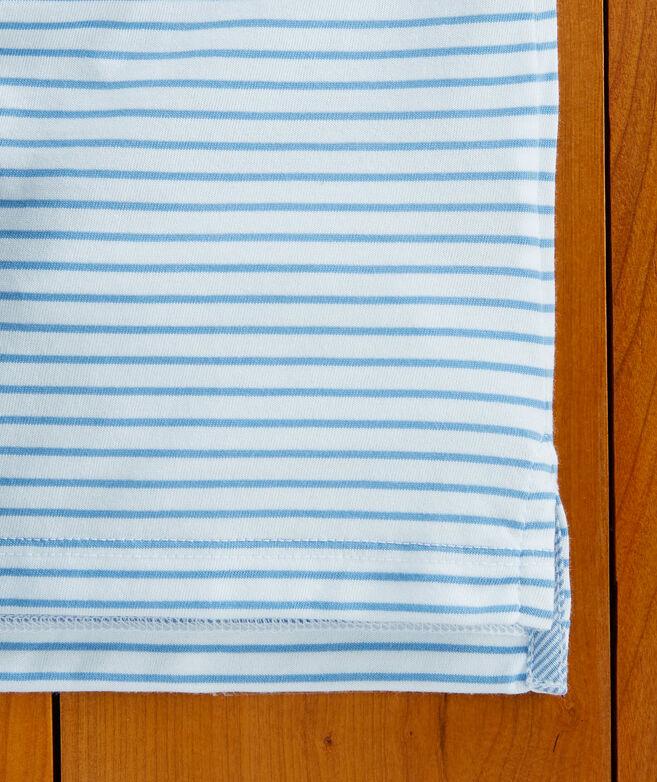 Boys Carmel Open Stripe Polo