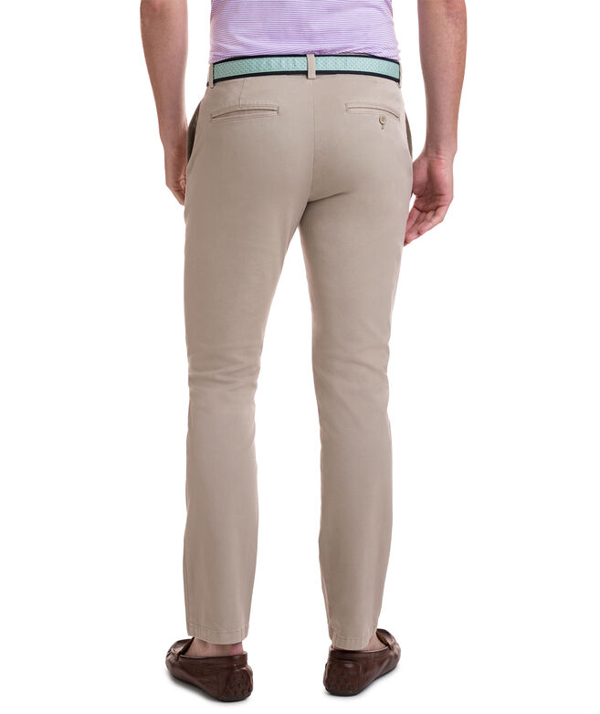 Stretch Slim-Fit Pants