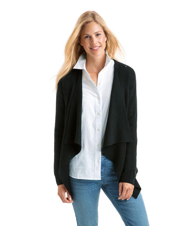Shop Ribbed Sweater Jacket at vineyard vines