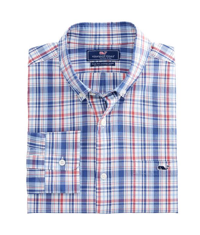 Duke's County Plaid Slim Tucker Shirt