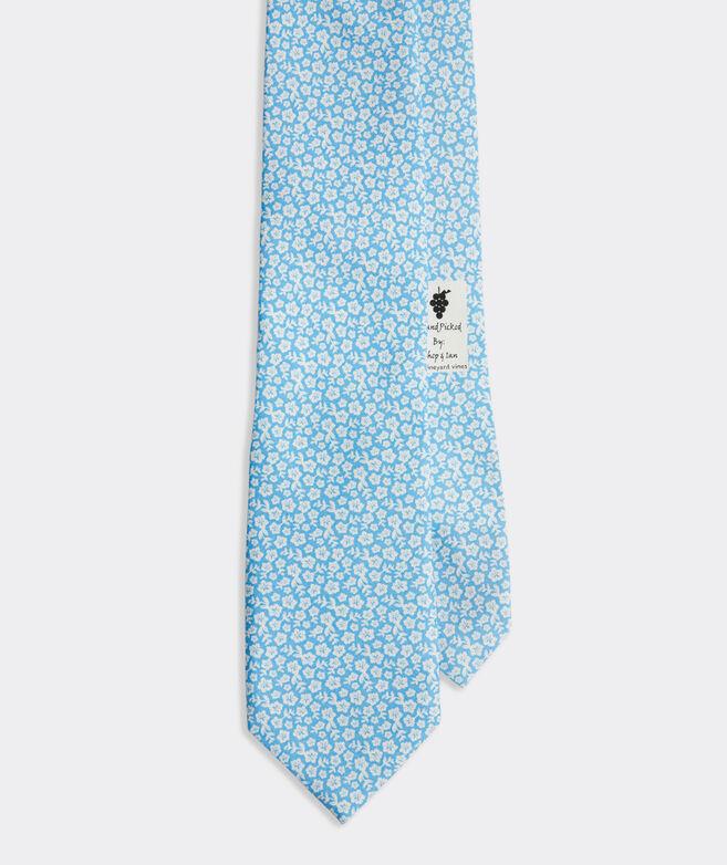 Tropical Floral Printed Tie