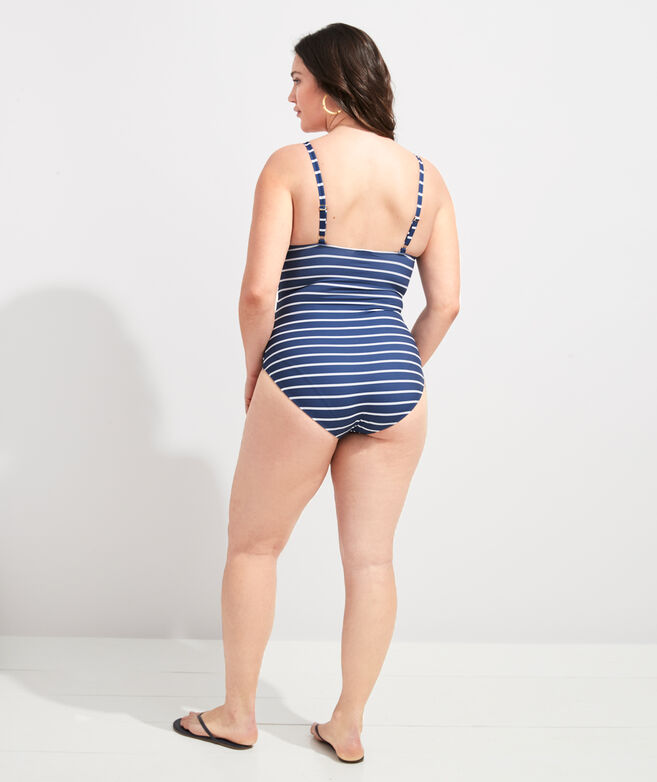 Break Stripe One-Piece