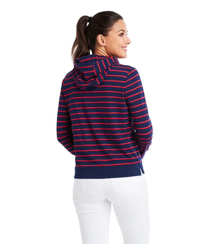 Break Stripe Hoodie Shep Shirt