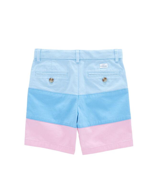 Boys Pieced Stretch Breaker Shorts