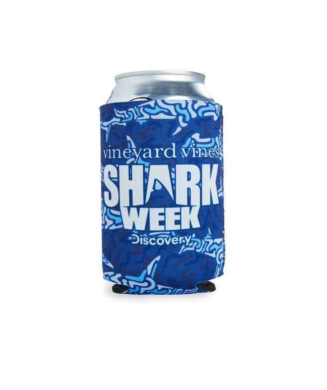 Shark Week Camo Coozie