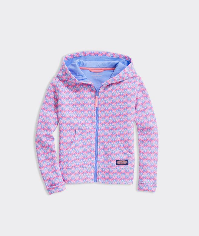 Girls' Full-Zip Fleece Hoodie