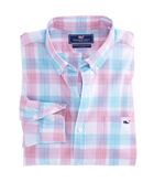 Cam Bay Plaid Slim Tucker Shirt