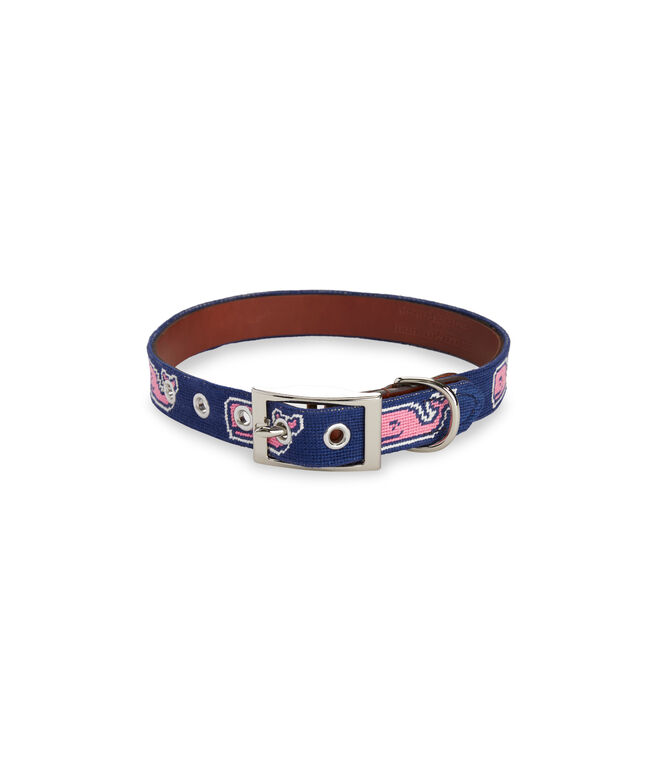 vineyard vines x Smathers & Branson Whale Dog Collar