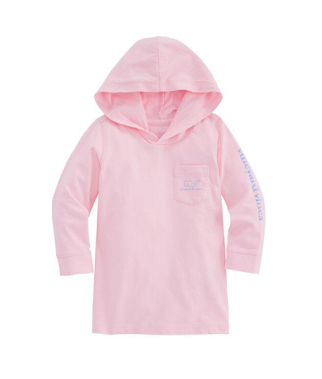 Baby Girls Hoodie Tee Dress (12-24 MO)