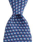 Red White & Blue Pinwheels Printed Tie