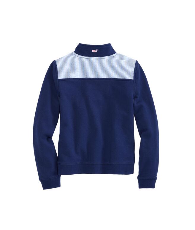 Girls Seersucker Classic Shep Shirt