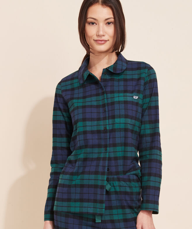 Blackwatch Plaid Lounge Set