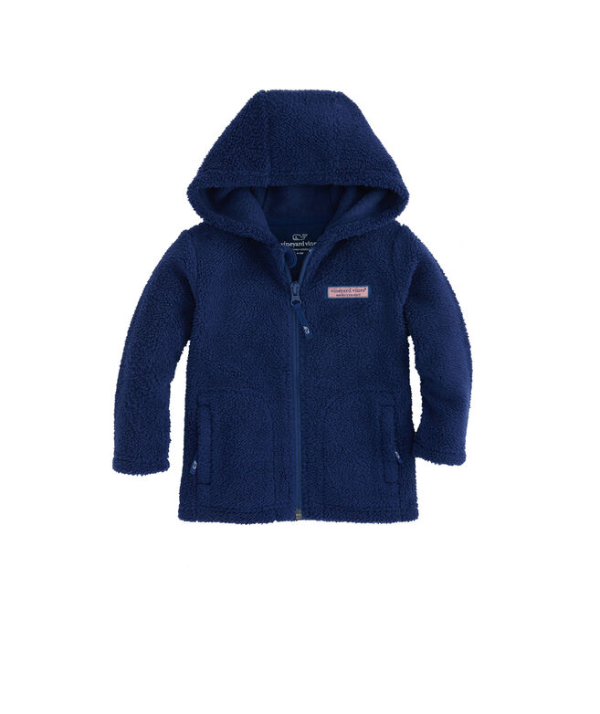 Baby Fuzzy Full-Zip