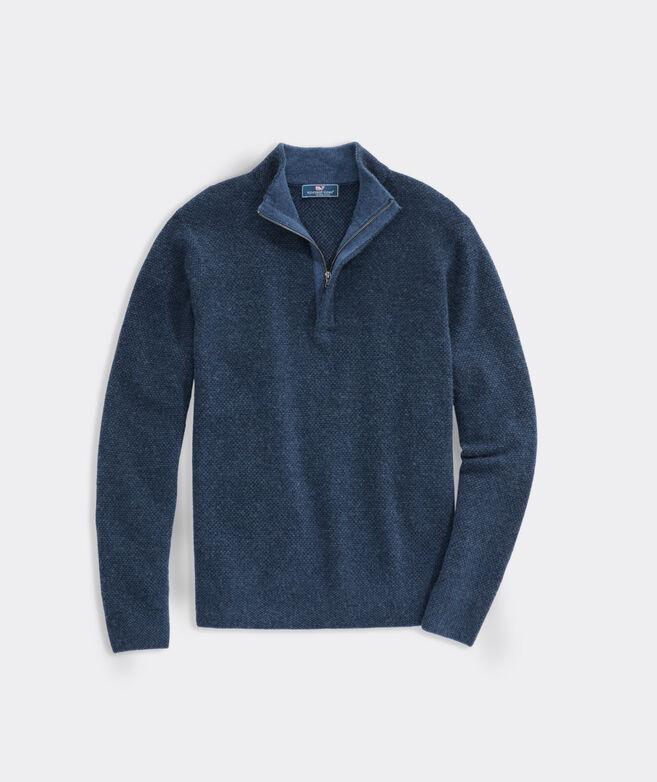 Yachtsman Cashmere 1/4 Zip Sweater
