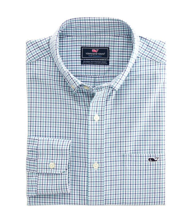 Classic Fit Auger Performance Tucker Shirt