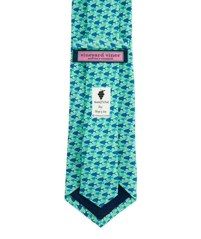 School of Permit Printed Tie