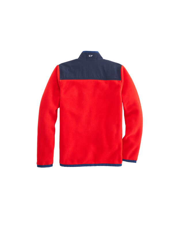 Boys Solid Polar Fleece Shep Shirt