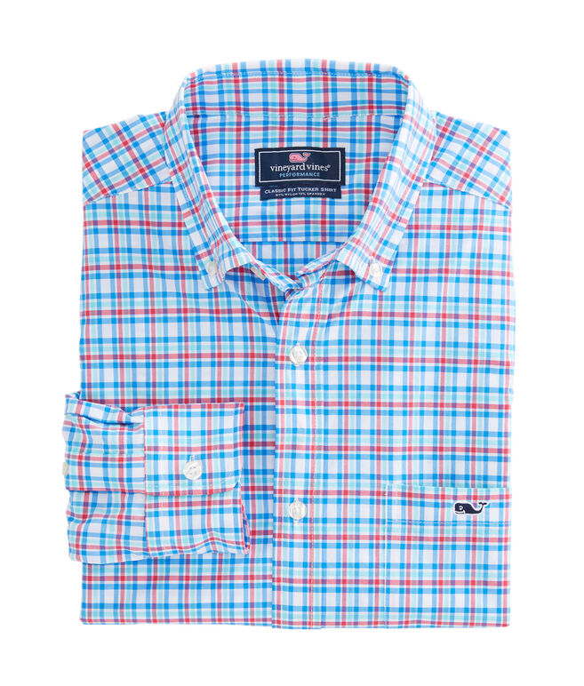 Jimson Check Performance Classic Tucker Shirt