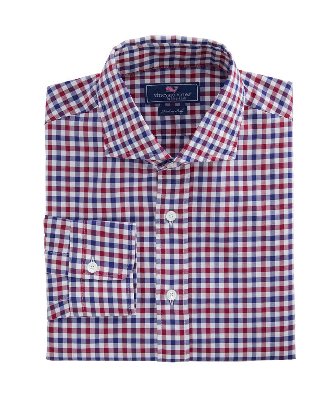 Italian Twill Greenwich Dress Shirt