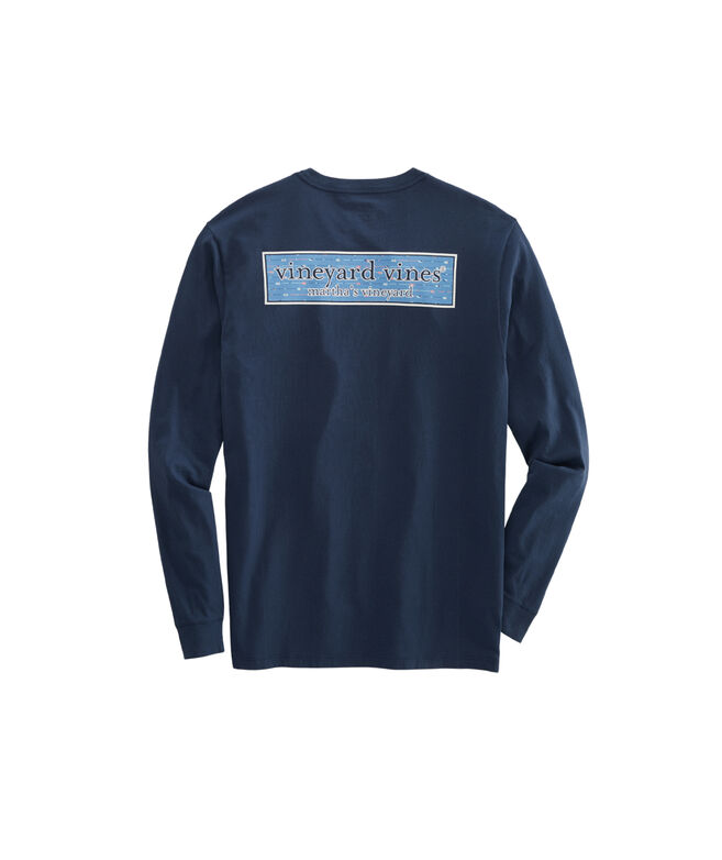 Paddle Box Fill Long-Sleeve Pocket T-Shirt