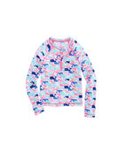 Girls Multi Whale Rash Guard