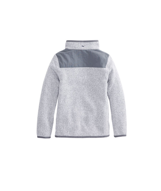 Boys Sweater Fleece Shep Shirt