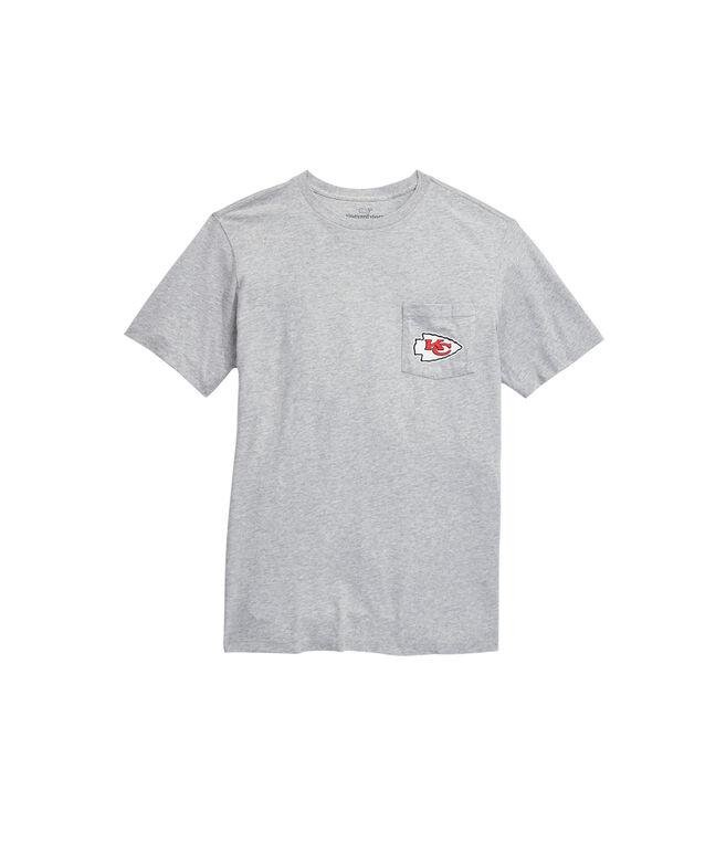 Kansas City Chiefs Block Stripe T-Shirt