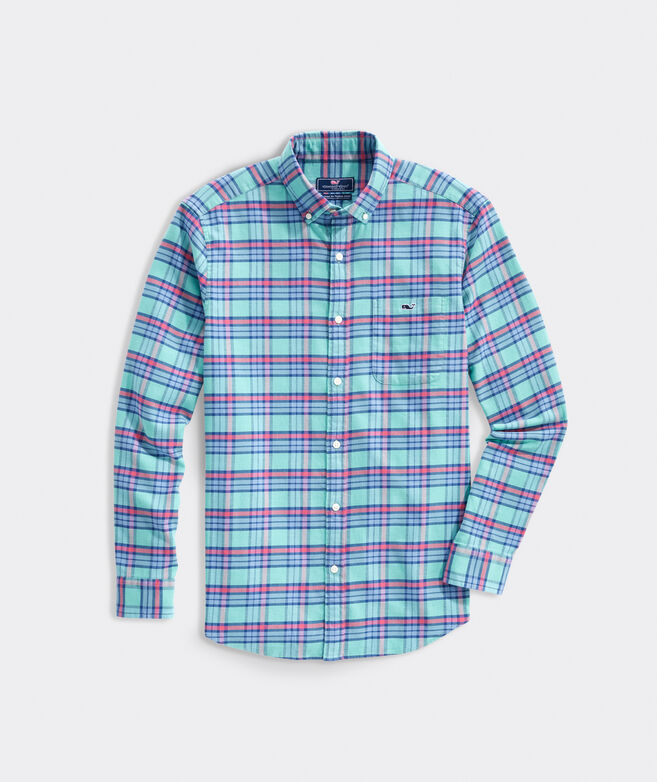 Classic Fit Harpoon Island Twill Tucker Button-Down Shirt