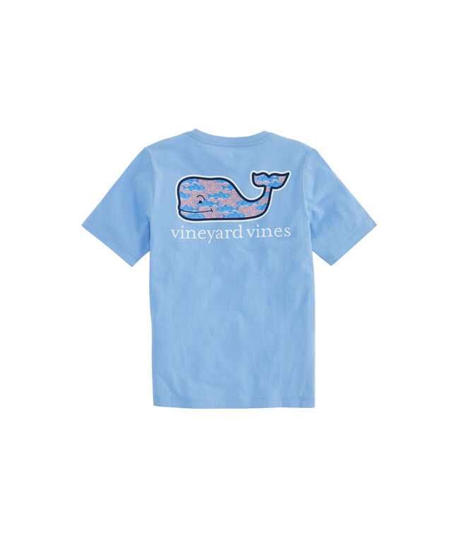 Boys Fish Stars Whale Fill Pocket T-Shirt